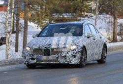 Mercedes Clase A 2018: continúa sus pruebas en la nieve