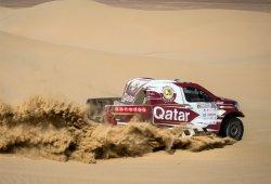 Nasser Al-Attiyah gana en la Dubai Baja con Toyota