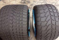 Pirelli se estrella con el test de mojado