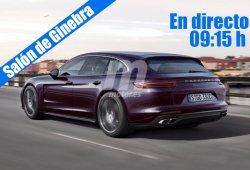 En directo: Porsche desde el Salón de Ginebra