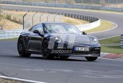 Nuevas imágenes de la renovación del Porsche 911, esta vez rodando en Nürburgring