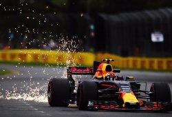 Red Bull sufre para seguir el ritmo de Mercedes y Ferrari