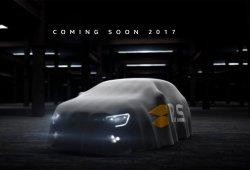 Renault Mégane RS 2018: ya tenemos el primer teaser del compacto deportivo