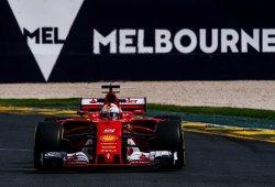 Sebastian Vettel, en primera línea 27 carreras después