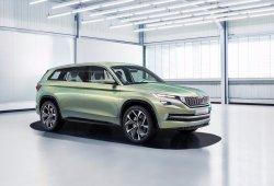 Skoda presentará un prototipo de vehículo eléctrico en el Salón de Shanghái 2017