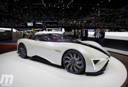TechRules Ren: el deportivo híbrido más atrevido de Ginebra con 1.300 CV