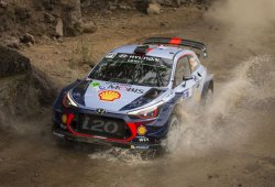 El shakedown del Rally de México es de Thierry Neuville