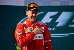 Vettel devuelve a Ferrari a lo más alto dos años después