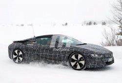 Vídeo del BMW i8 Spyder durante una sesión de pruebas de su desarrollo