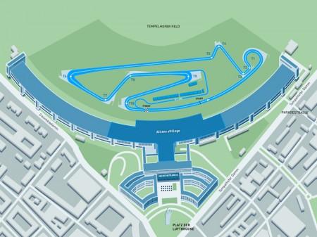 Desvelado el nuevo trazado del doble ePrix de Berlín