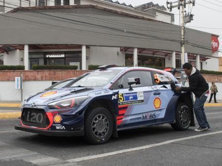 Lista de inscritos del Tour de Corse del WRC