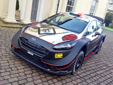 Lorenzo Bertelli presenta su nuevo Ford Fiesta RS WRC '17