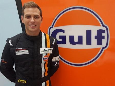 Nick Foster completa el 'line up' de Gulf Racing en el WEC