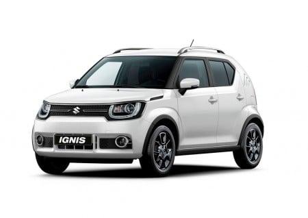 Suzuki Ignis 2017: precios y gama para España del nuevo crossover urbano japonés