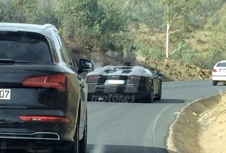 Primeras imágenes del nuevo Lamborghini Aventador S Roadster sin camuflaje