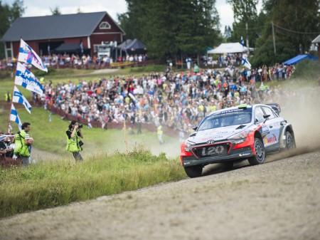 Recorrido reconocible en el 67º Rally de Finlandia