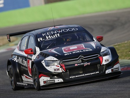 Rob Huff, intratable al cierre del test WTCC en Monza