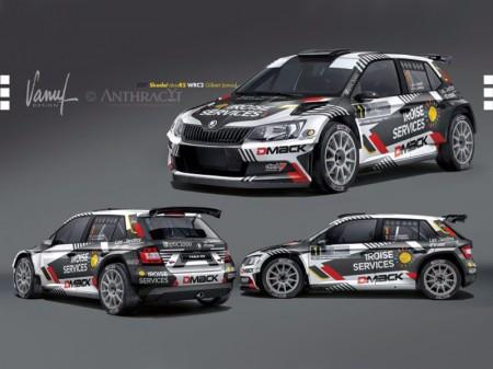 Quentin Gilbert apuesta por el Skoda Fabia R5 en WRC2