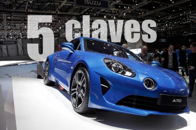Alpine A110 2017 - 5 claves