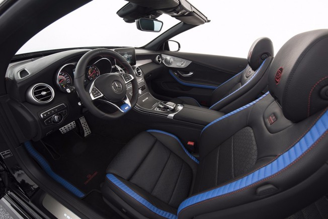 Brabus 650 Cabrio - interior