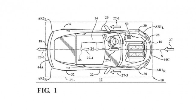 chevrolet corvette  descubiertas las patentes de nuevo