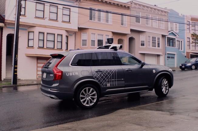 Uber coche autónomo
