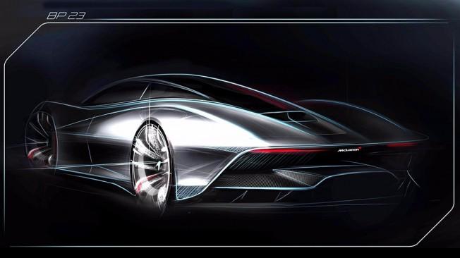McLaren BP23 - boceto