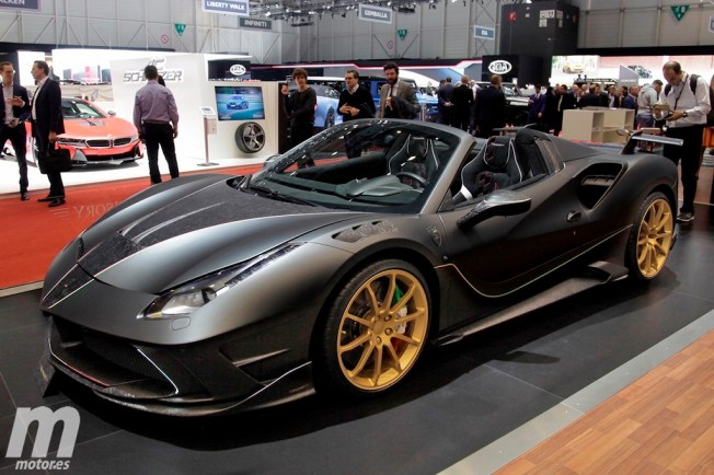 Mansory Ferrari 4XX Spider