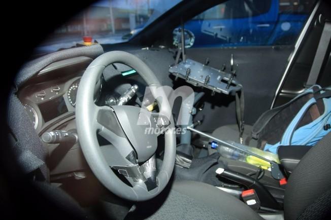 Opel Corsa 2020 - foto espía interior