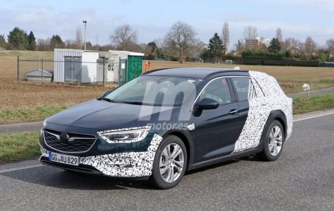 Opel Insignia Country Tourer 2017 - foto espía