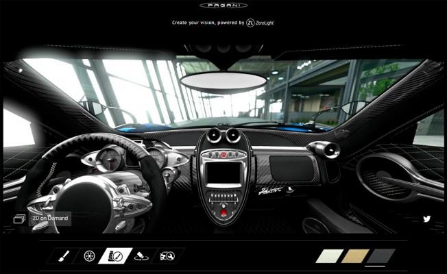 Pagani Huayra Roadster 2017 - configurador