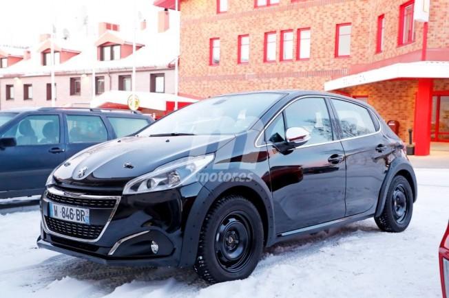 Peugeot 208 2018 - foto espía