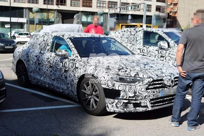 Audi A8 2018 - foto espía