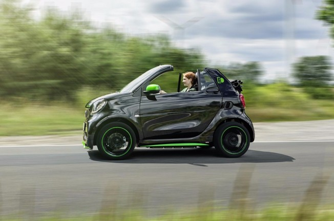 Smart ForTwo Cabrio Electric Drive 2017
