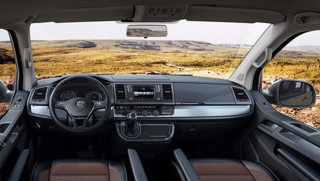 Volkswagen Multivan Panamericana 2017 - interior
