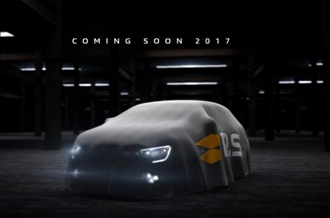 Renault Mégane RS 2018 - teaser