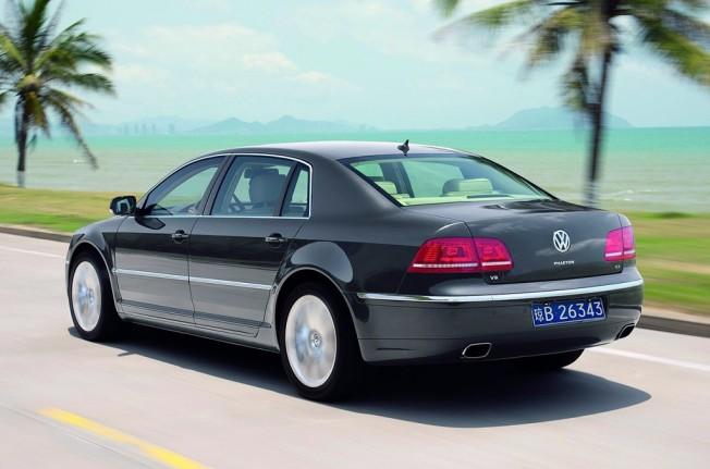 Volkswagen Phaeton - posterior