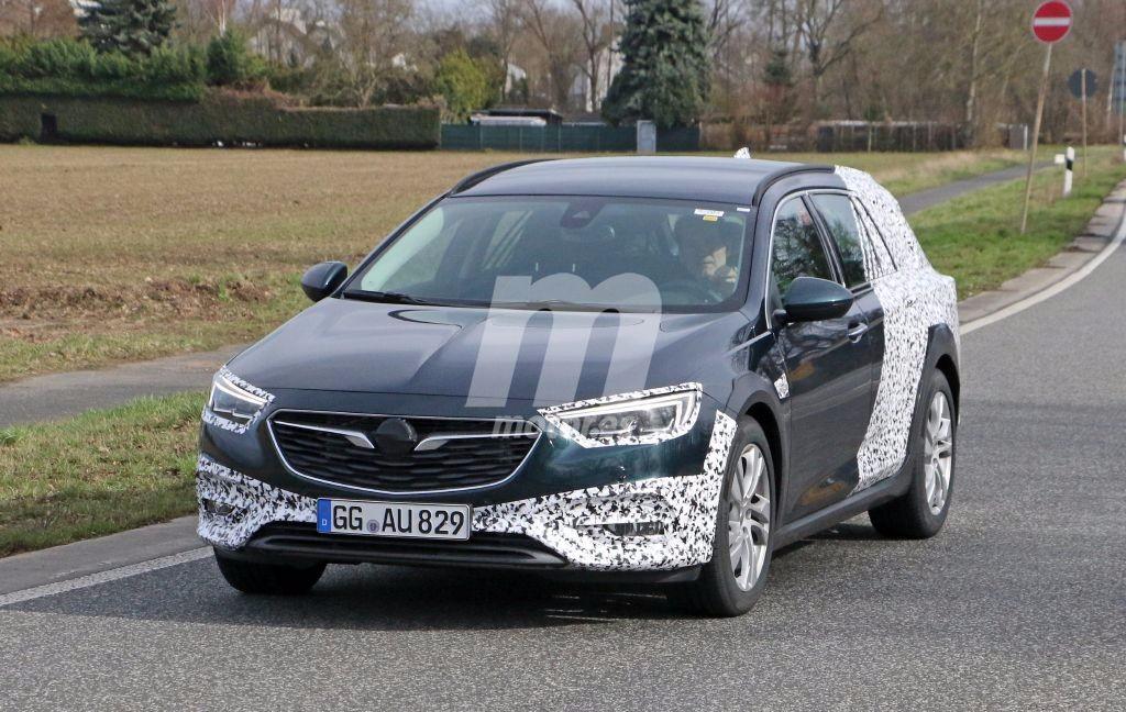 Opel Insignia Country Tourer 2017: cazada la variante más polifacética de la gama