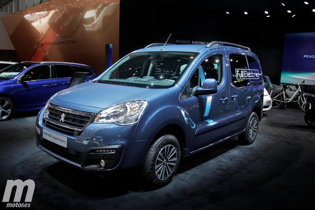 Peugeot Partner Tepee Electric 2017: 170 km de autonomía para un nuevo eléctrico
