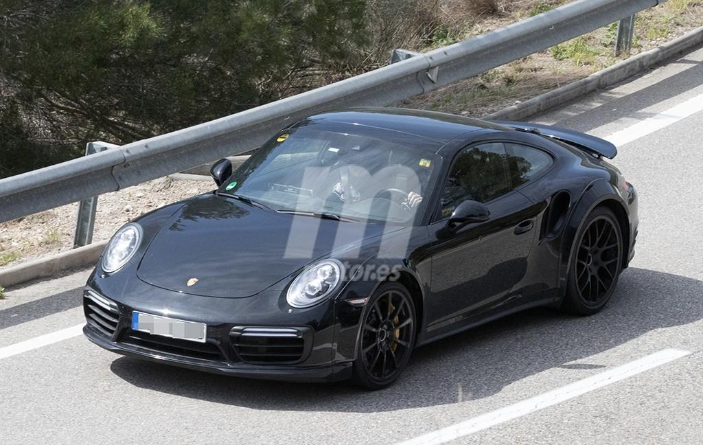 Cazada la nueva generación del Porsche 911 Turbo