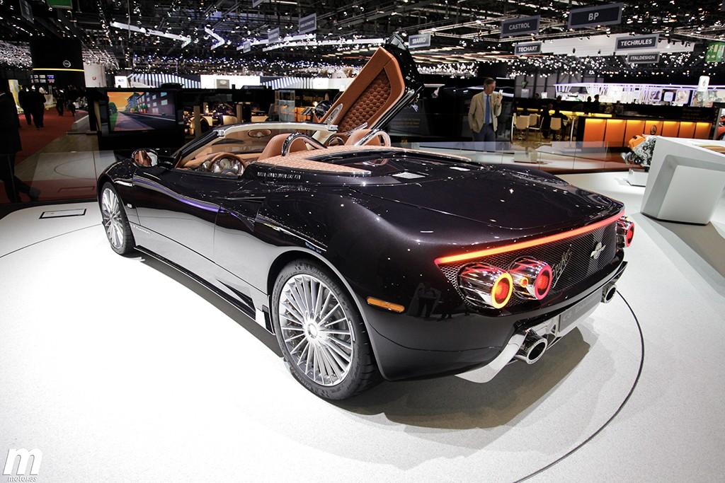 Spyker acuerda una colaboración con Koenigsegg y nos presenta el C8 Preliator Spyder