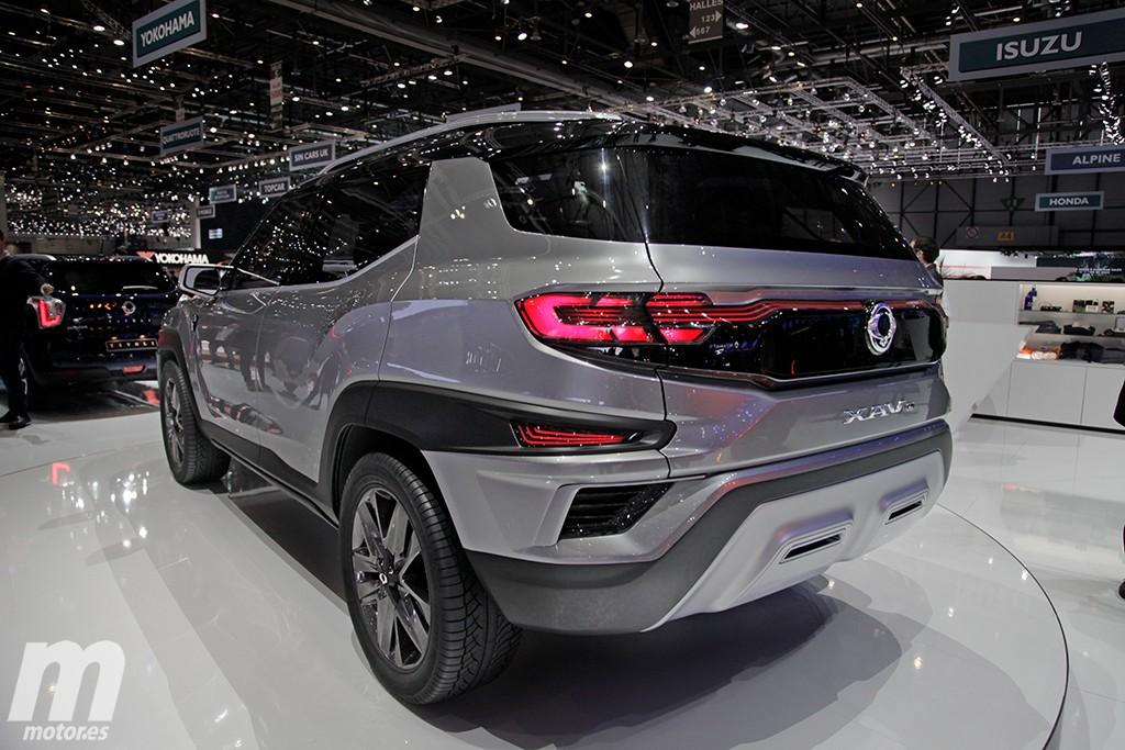 SsangYong XAVL Concept: abriendo la puerta a un nuevo SUV de 7 plazas