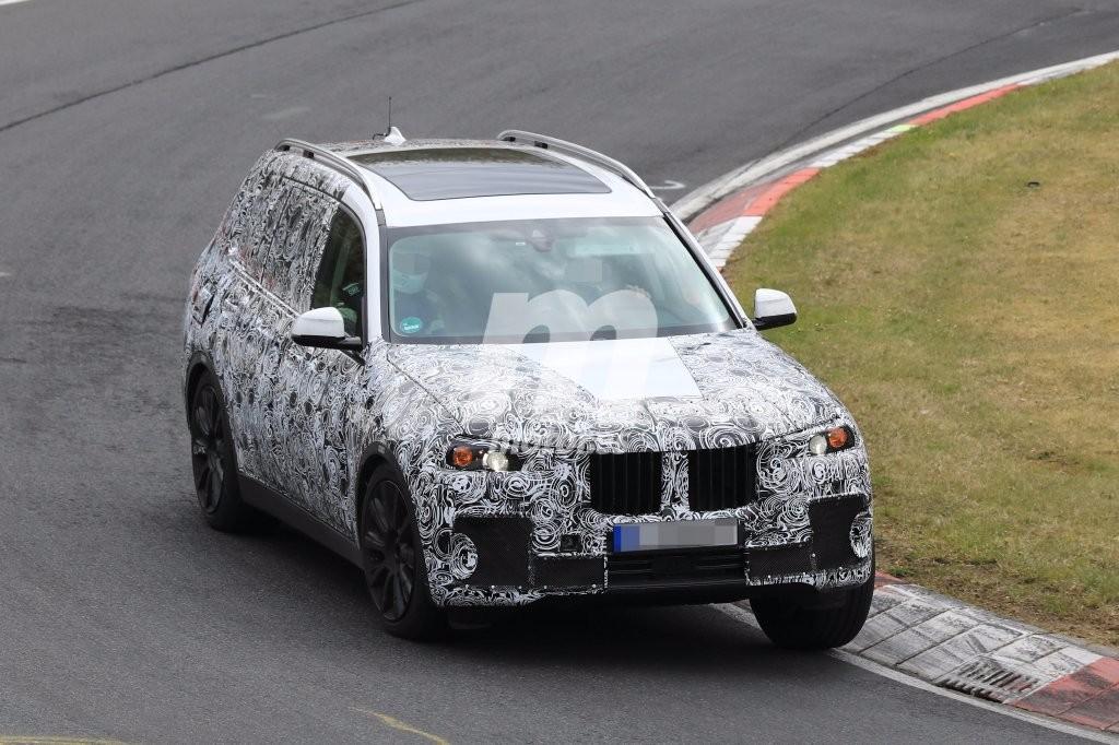 El BMW X7 cazado por primera vez en Nürburgring