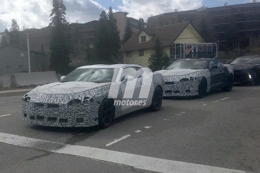Chevrolet Camaro 2019: nuevas imágenes de la actualización del Camaro