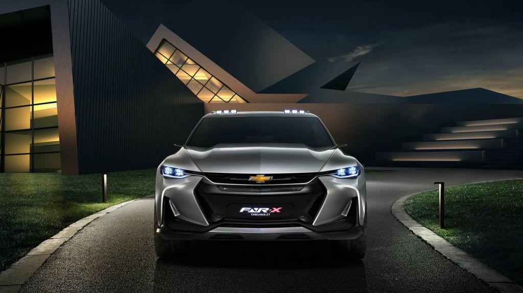 Chevrolet FNR-X: espectacular crossover conceptual que adelanta posible rival para el Toyota C-HR