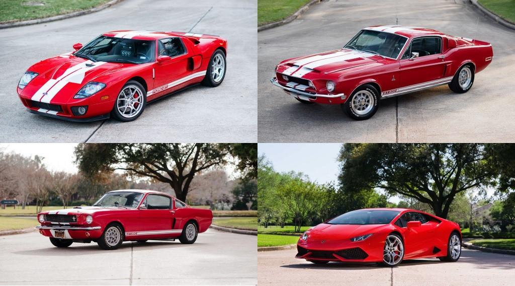 Colección Burton a subasta: un par de Lamborghini entre varios Mustang Shelby