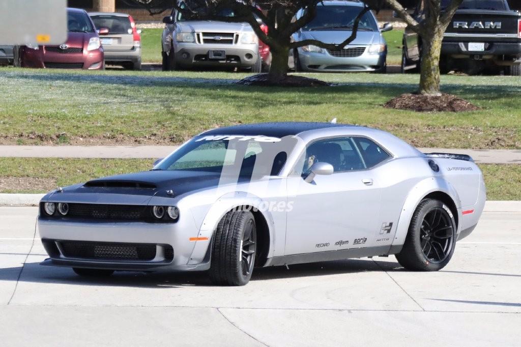 Dodge Challenger SRT Demon: totalmente al desnudo antes de su debut