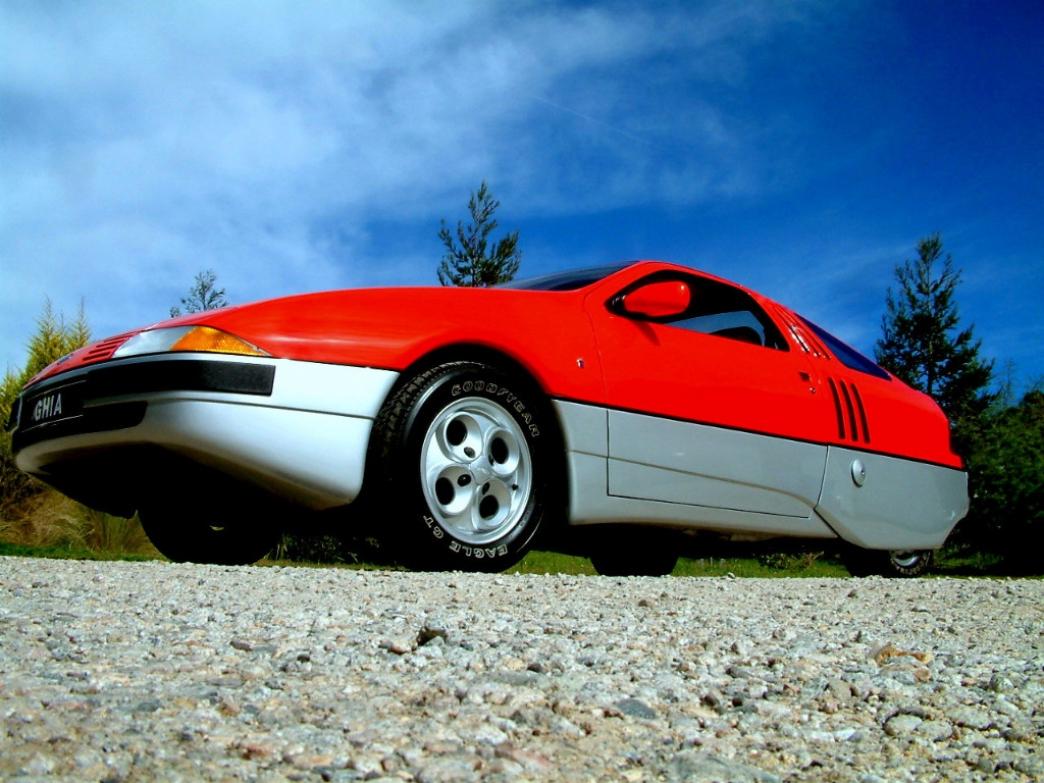Ghia Brezza: el primer coche diseñado por completo por una mujer