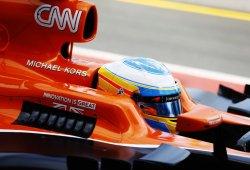 """Alonso: """"Honda sólo nos deja rodar cuatro vueltas en los libres 3"""""""