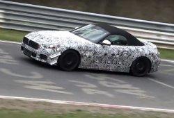 BMW Z5 2018: probando nuevos elementos aerodinámicos en Nürburgring